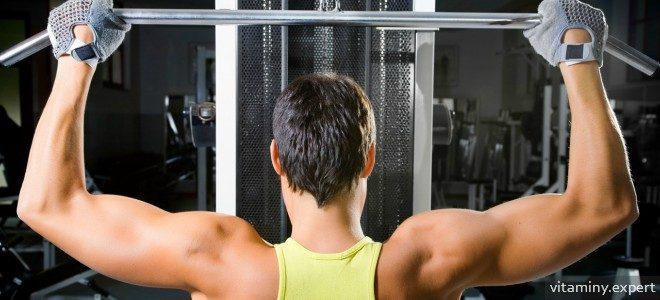 Миниатюра к статье Витамины, которые помогут нарастить мышечную массу