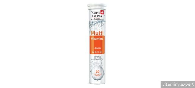 Миниатюра к статье Swiss Energy MultiVitamins + Biotin. Как действует комплекс и что входит в его состав